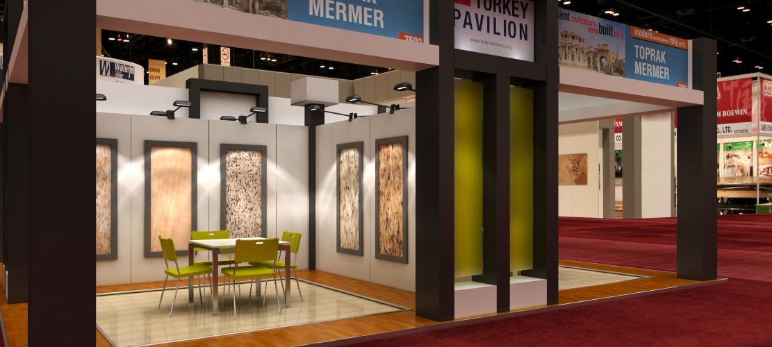 exhibit design render