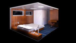 yacht bedroom visualization