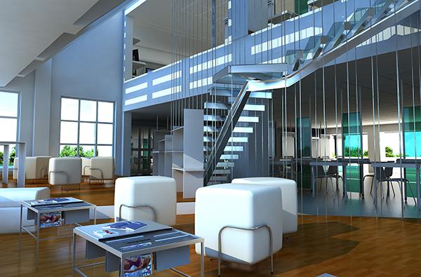 architecture studio rendering