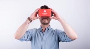 virtual reality marketing headset
