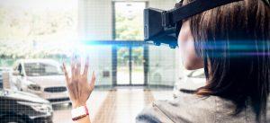 virtual reality cars showroom trade show