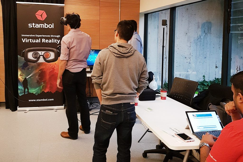 Stambol Studios VR set up