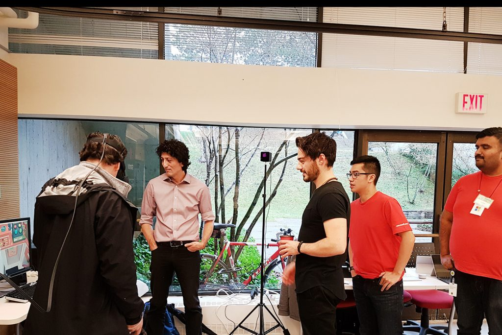 Stambol Studios and Microsoft team at SFU DemoFest Event