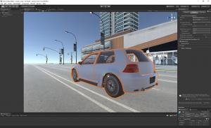 screenshot from unity engine