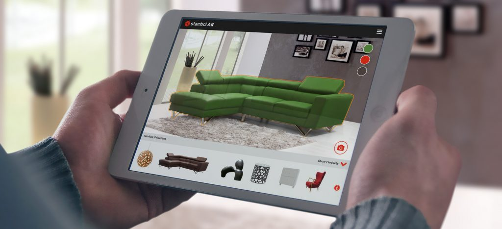 Augmented Reality Furniture Shopping Ecommerce