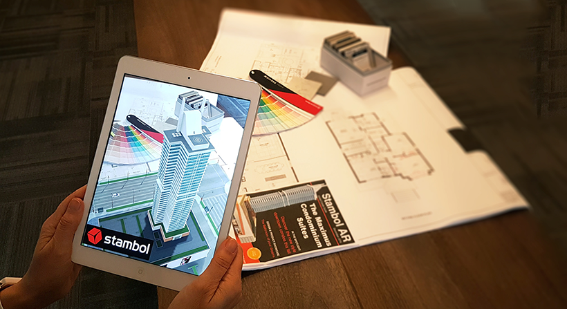 Architecture Project Condominium for Augmented Reality