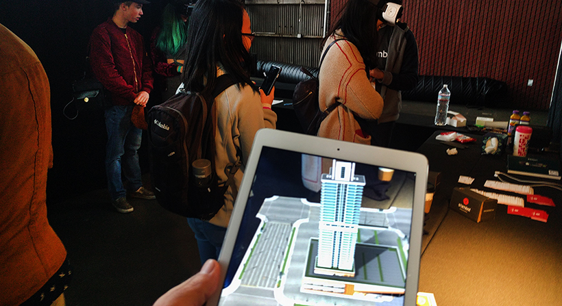 Stambol showing Augmented Reality (AR) app for real estate and architecture