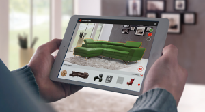 benefits of AR (augmented reality) to place furniture in context