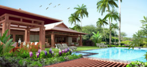 Hawaiian House Exterior Render