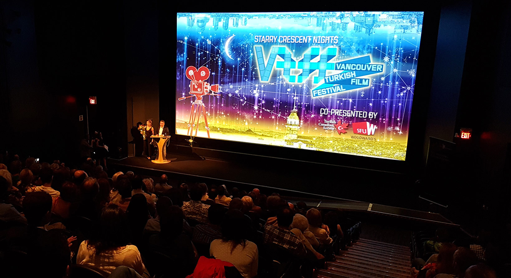 VTFF Opening Film at SFU Woodward's Goldcorp Theatre