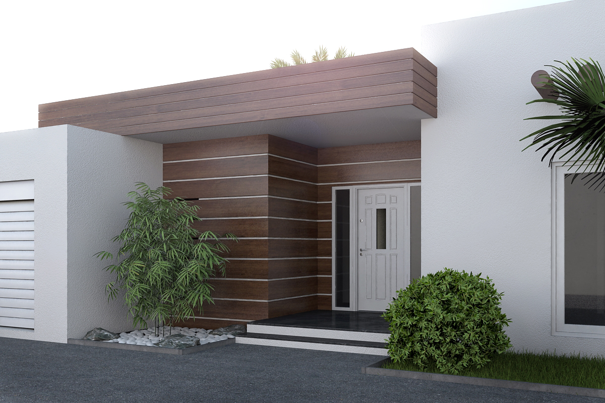 3D entrance visualization