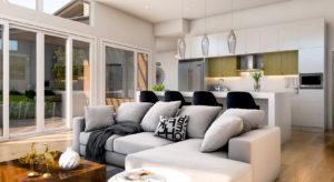 Predator Ridge Resorts Affinity Homes 3D Interior Rendering