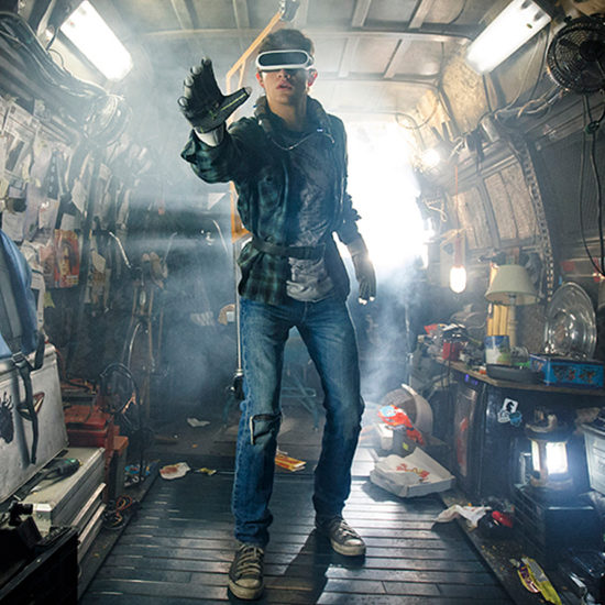 A scene from the movie, Ready Player One