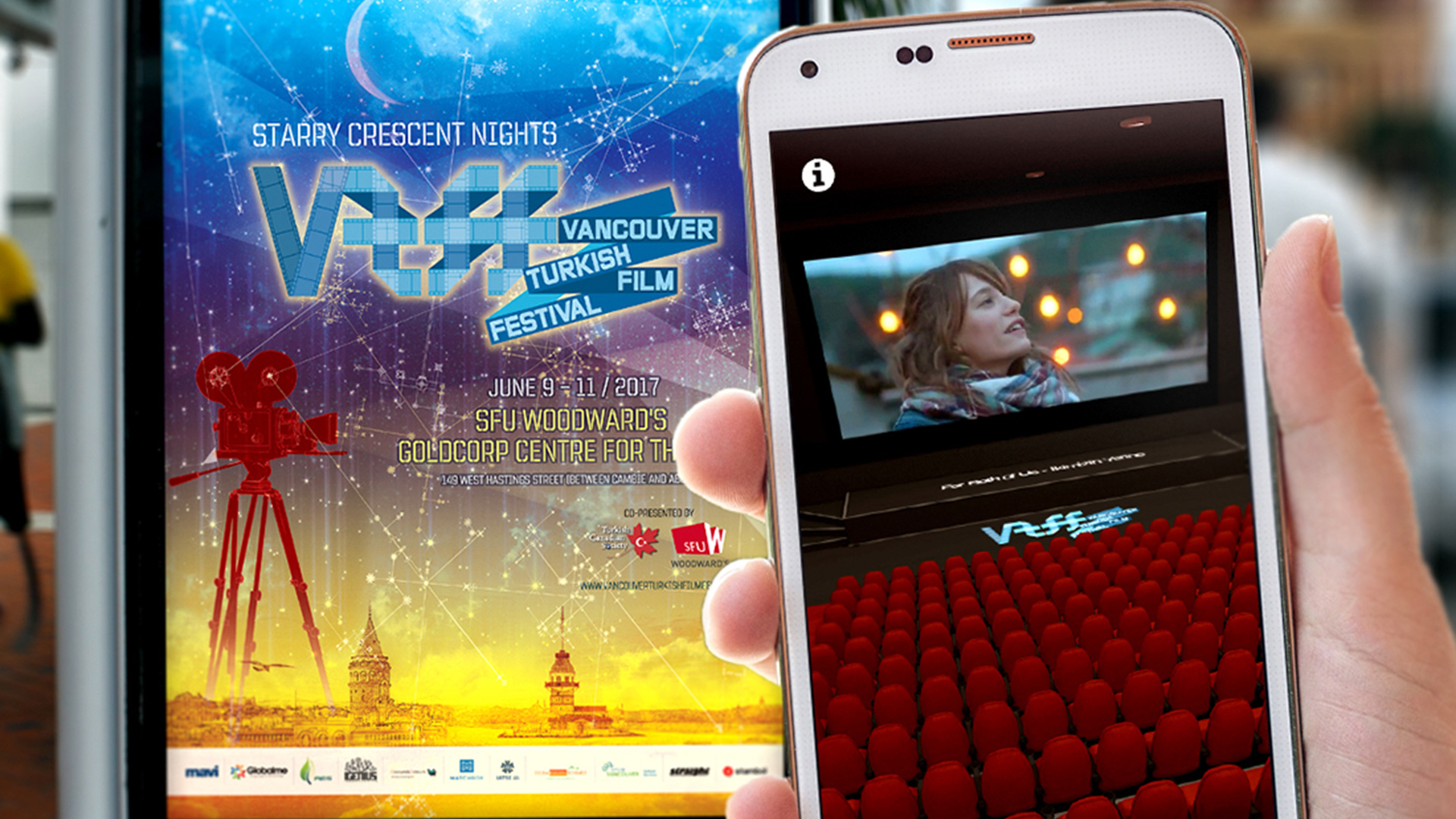 Vancouver Turkish Film Festival Augmented Reality App