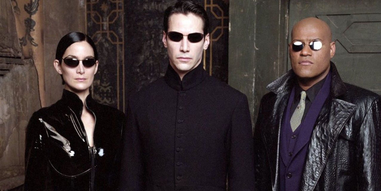 A poster from movie, The Matrix