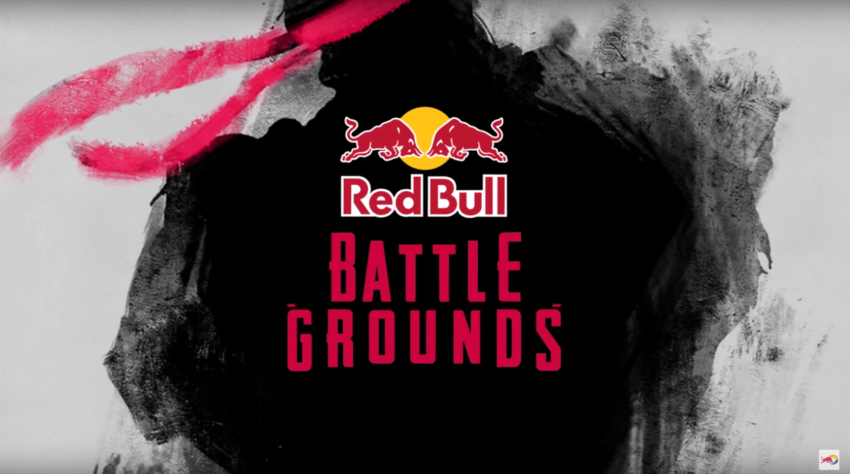 Poster for eSport tournaments staged by Red Bull Battle Grounds