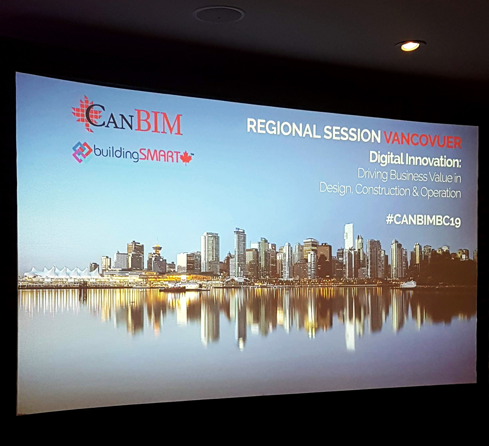 CanBIM Vancouver Regional Session Presentation Slide
