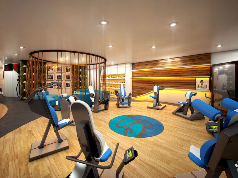 SilverFit Whole Health Studios Interior Render