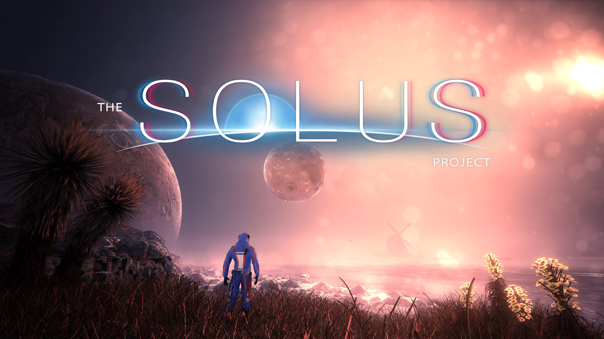 The Solus Project Video Game Banner