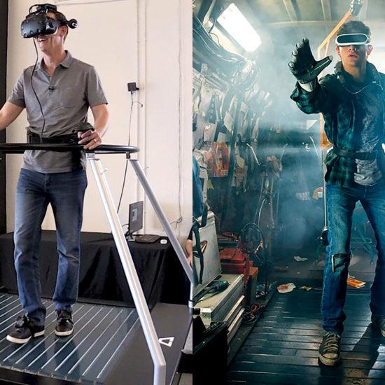VR Omnidirectional Treadmill