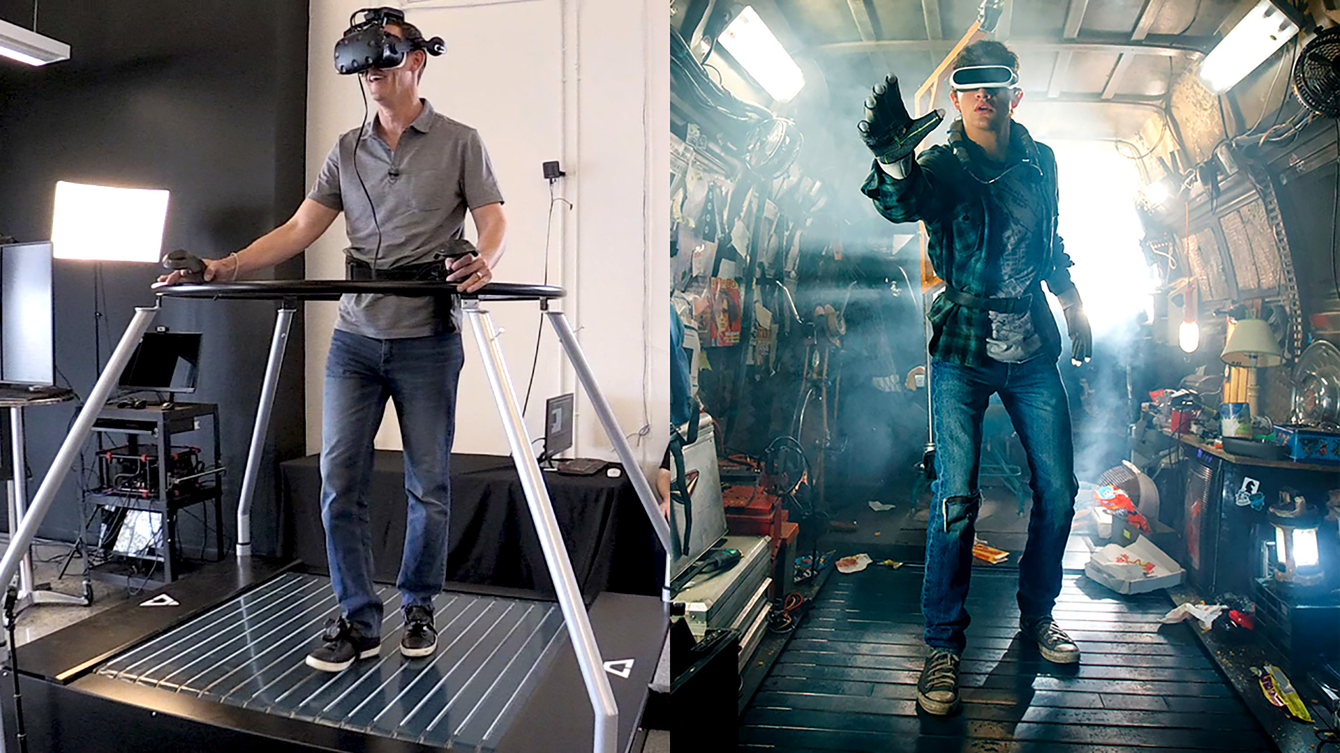 VR Omnidirectional Treadmill