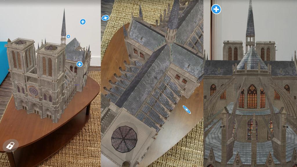 AR Replica Of Notre Dame