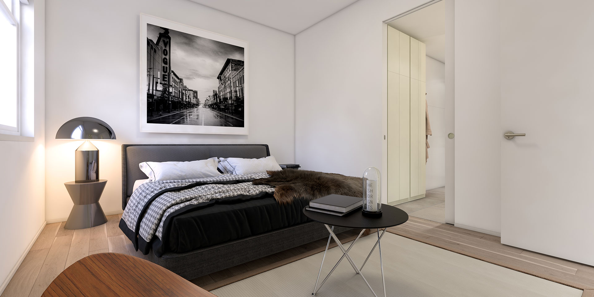 Turner's Dairy Townhouse Project - Unit 3 Bedroom Render