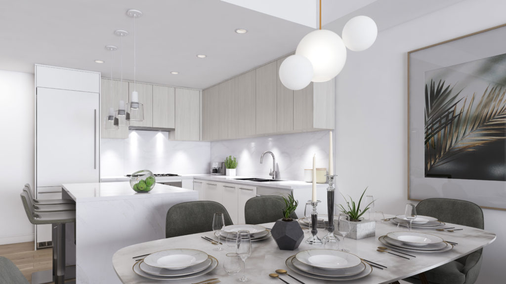 3D Render from Ebb & Flow at Lions Gate Village Project