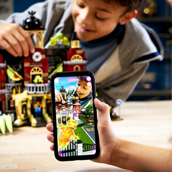 LEGO AR-enabled mobile playsets