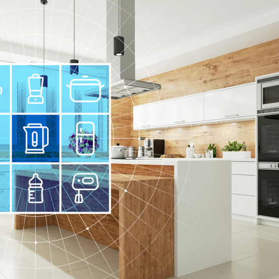 Internet of Things Devices in a Smart Home Kitchen